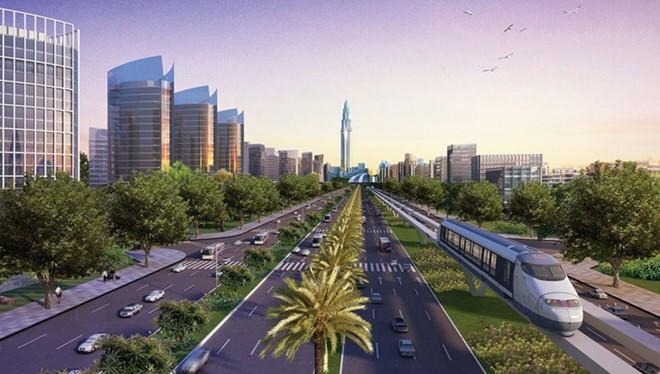 Mô hình thành phố thông minh phía Bắc Hà Nội