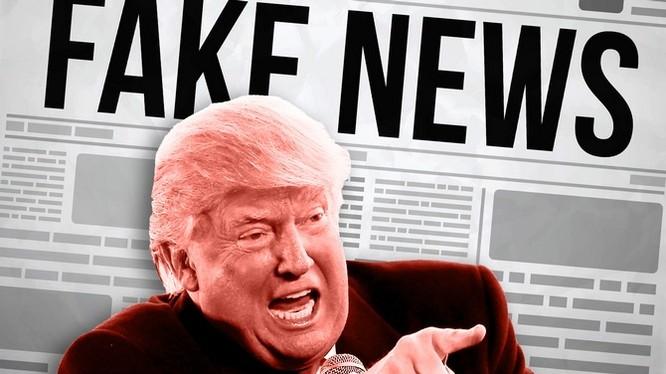 Tổng thống Mỹ Donal Trump là người đã góp phần đưa cụm từ này trở nên phổ biến đến vậy.