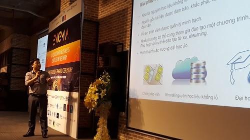 Một cuộc thi về công nghệ blockchain tổ chức tại TP.HCM. Ảnh: Hà Thế An.