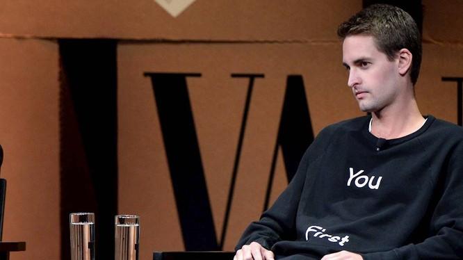 CEO trẻ tuổi Evan Spiegel của Snapchat.