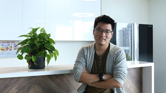 CEO Money Lover Ngô Xuân Huy. Ảnh: Ngọc Vũ