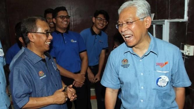Bộ trưởng Đại học Malaysia Seri Idris Jusoh tại lễ ra mắt trường cao đẳng cộng đồng Maran