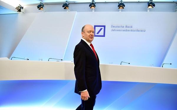 Ông John Cryan, CEO của ngân hàng Deutsche Bank - Ảnh: GETTY IMAGES