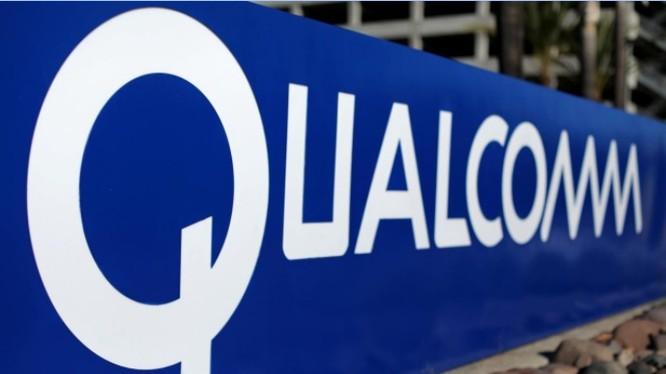 Biển hiệu của Qualcomm tại khuôn viên trụ sở của Hãng tại San Diego, California, Mỹ Ngày 6/11/ 2017. Ảnh REUTERS/Mike Blake/File Photo