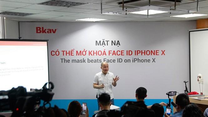 Ông Nguyễn Tử Quảng - CEO Bkav chia sẻ về mục đích xác định lỗi. Ảnh bkav