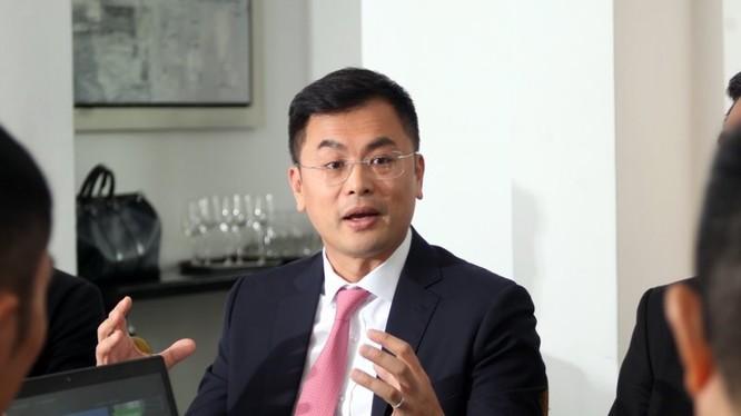 Ông Ken Wong – Chủ tịch Lenovo khu vực châu Á Thái Bình Dương.