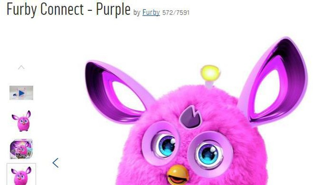 Furby Connect được bán trên Argos - Ảnh: ARGOS