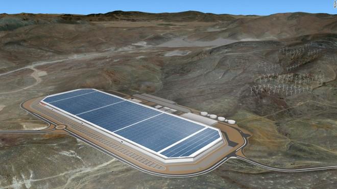Toàn cảnh nhà máy pin của Tesla