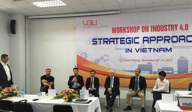 Hội thảo quy tụ 115 đại biểu đến từ các trường đại học và doanh nghiệp (ảnh: Phạm Song)