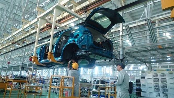 Sắp đưa vào vận hành nhà máy sản xuất ô tô Mazda lớn nhất Đông Nam Á. Ảnh: Thaco