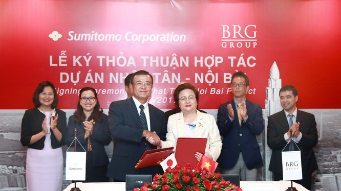 Lễ ký kết Thỏa thuận hợp tác phát triển Dự án đô thị Nhật Tân - Nội Bài