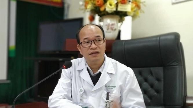 PGS.TS. Đỗ Duy Cường – Giám đốc Trung tâm bệnh nhiệt đới.