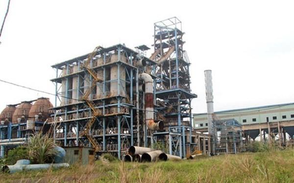 Khu Công nghiệp gang thép Thái Nguyên (ảnh: Internet)