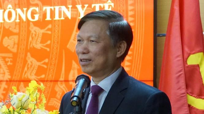 PGS.TS. Trần Quý Tường - Cục trưởng Cục công nghệ thông tin, Bộ Y tế.