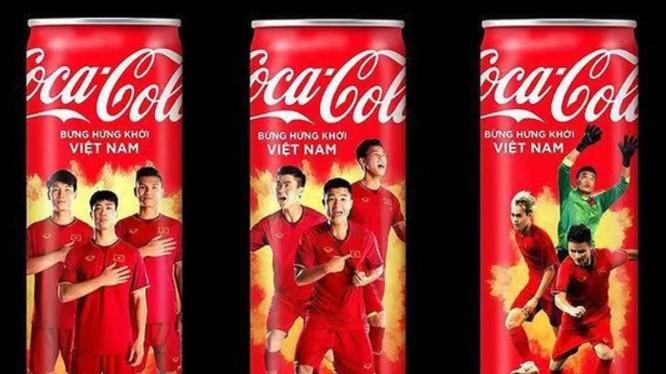 Mẫu quảng cáo của Coca Cola