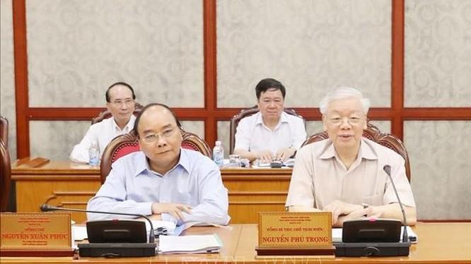 Tổng Bí thư, Chủ tịch nước Nguyễn Phú Trọng đã chủ trì cuộc họp Bộ Chính trị định kỳ