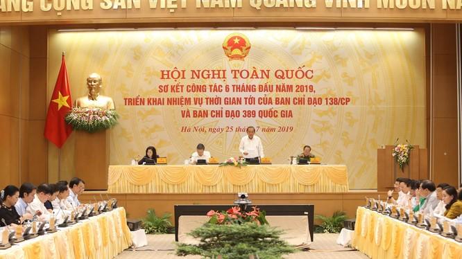 Phó Thủ tướng Thường trực Chính phủ Trương Hòa Bình phát biểu chỉ đạo tại Hội nghị. (Ảnh: VGP/Lê Sơn)