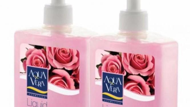 Sản phẩm nước rửa tay dưỡng da AQUAVERA dưỡng chất hoa hồng bị thu hồi