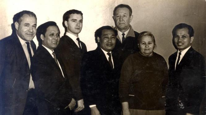 Các chuyên gia Nga và chuyên gia Việt Nam tham gia gìn giữ thi hài Bác cách đây nửa thế kỷ