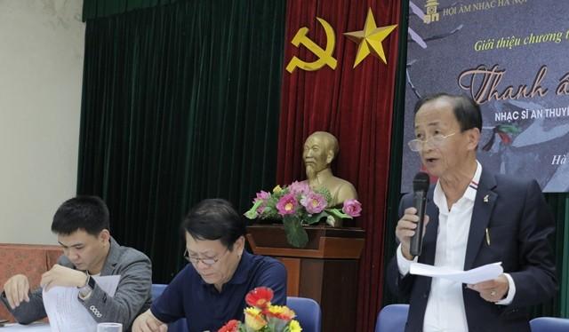 """Hội Âm nhạc Hà Nội họp báo giới thiệu chương trình """"Tình yêu Hà Nội"""""""