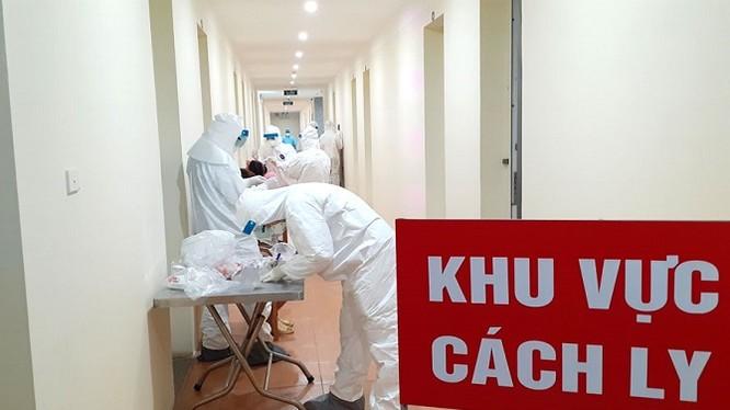 Khu cách ly tại Bệnh viện Công an TP Hà Nội (ảnh: Hải Yến)