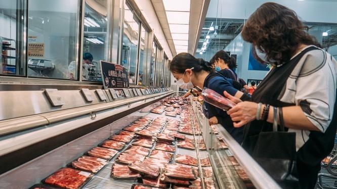 Nhiều siêu thị ở Trung Quốc đã loại các hồi khỏi các kệ hàng của họ