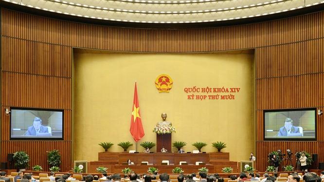 Kỳ họp thứ 10, Quốc hội khóa XIV
