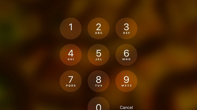 Cách dùng mật khẩu gồm chữ lẫn số trên iPhone
