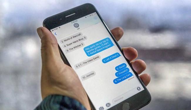 Tin nhắn iMessage trên iPhone