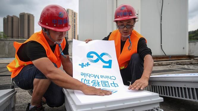 Trung Quốc đã xây 500.000 trạm gốc 5G