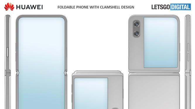 Huawei đăng ký bằng sáng chế thiết kế smartphone gập dạng vỏ sò