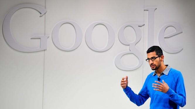CEO Google Sundar Pichai. Ảnh: TechCrunch