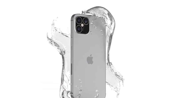 Ảnh dựng của iPhone 12 Pro. Ảnh: Gizchina