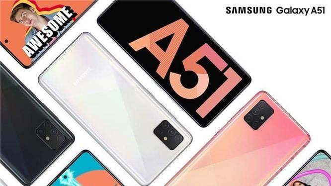 Galaxy A51 hiện đang là chiếc smartphone 5G giá rẻ nhất của Samsung. Ảnh: Gizchina