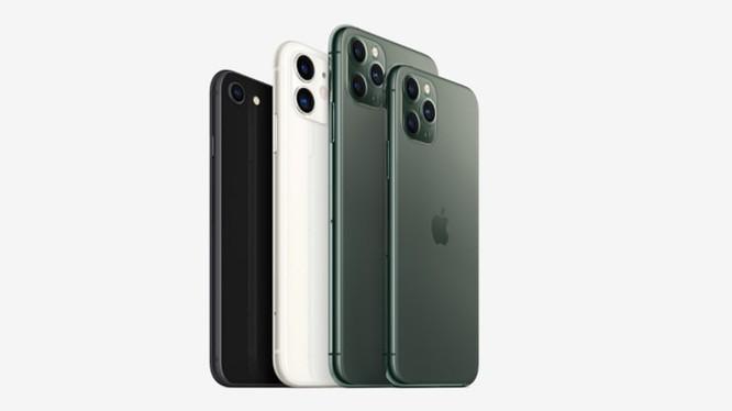 IPhone SE, iPhone 11, iPhone 11 Pro Max và iPhone 11 Pro của Apple. Ảnh: CNBC