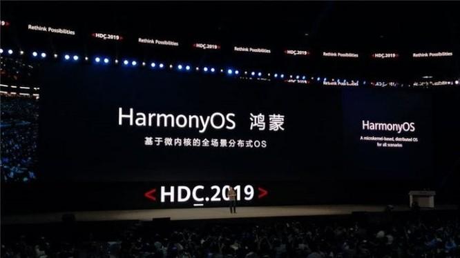 Năm ngoái, Huawei đã ra mắt HĐH HarmonyOS như một giải pháp thay thế cho sự phụ thuộc vào công nghệ Mỹ. Ảnh: Gizchina
