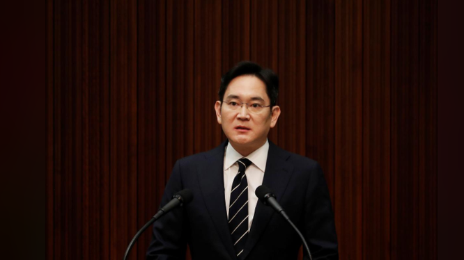 Ông Lee Jae-yong, phó chủ tịch Samsung Electronics và đang là lãnh đạo tối cao trên thực tế của Samsung. Ảnh: Reuters