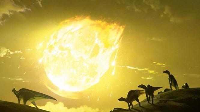 Nguyên nhân dẫn đến sự biến mất của loài khủng long được cho là do vụ va chạm của một tiểu hành tinh với Trái Đất. Ảnh: India Gone Viral