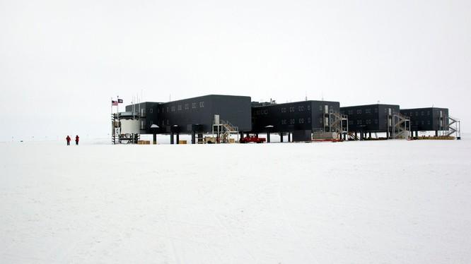 Một căn cứ của Mỹ ở khu vực Nam Cực. Ảnh: News Info Park