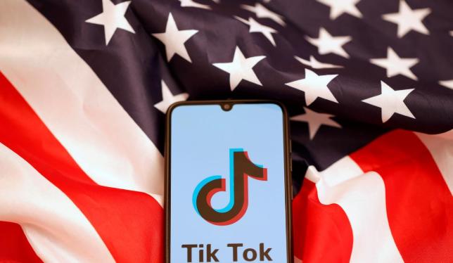 TikTok đang phải đối mặt với một lệnh cấm tiềm năng ở Mỹ. (Ảnh: Reuters)