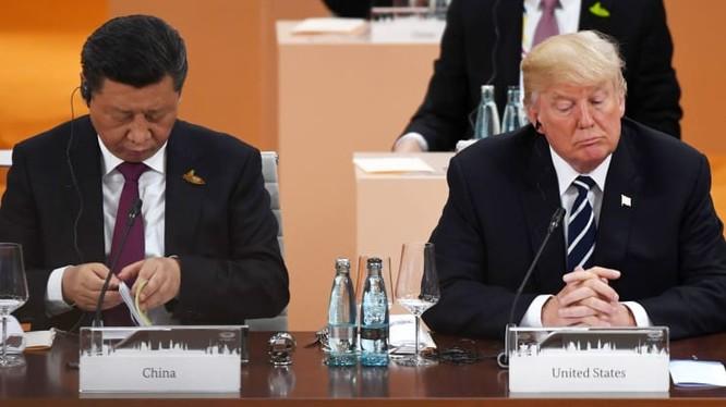 Chủ tịch Trung Quốc Tập Cận Bình (trái) và Tổng thống Mỹ Donald Trump (phải). Ảnh: CNBC