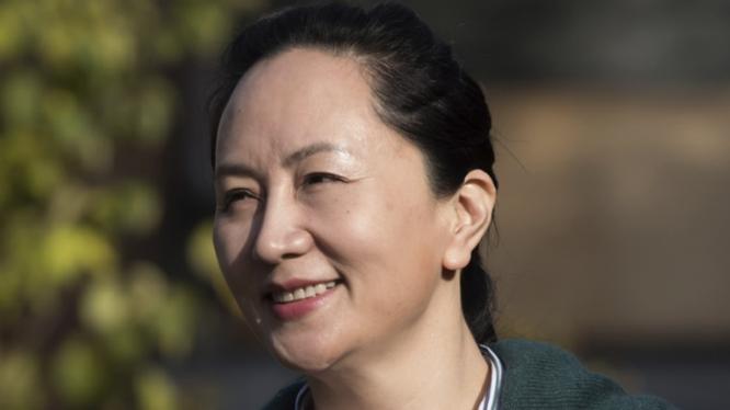 Giám đốc tài chính Huawei - bà Mạnh Vãn Chu. (Ảnh: SCMP)