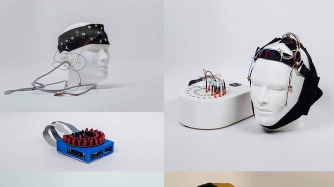 Một nguyên mẫu từ dự án Amber của Google. (Ảnh: CNBC)