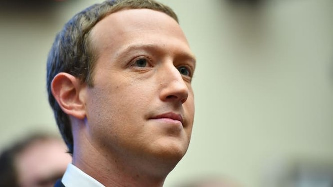 CEO Facebook Mark Zuckerberg. (Ảnh: CNBC)