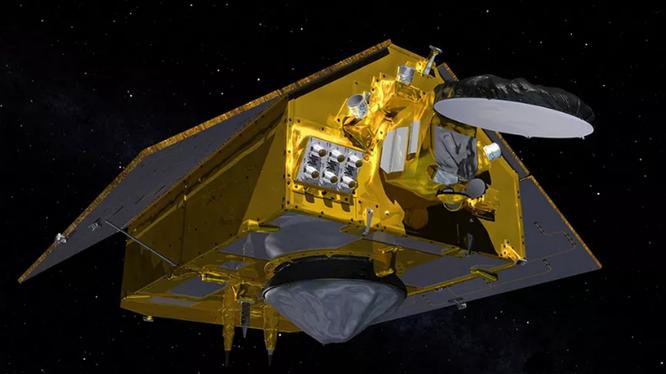 Vệ tinh theo dõi mực nước biển Sentinel-6 Michael Freilich của NASA. (Ảnh: The Verge)
