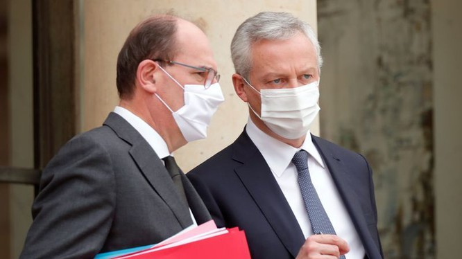 Cuộc họp nội các hàng tuần tại Điện Elysee ở Paris. (Ảnh: Finance Yahoo)