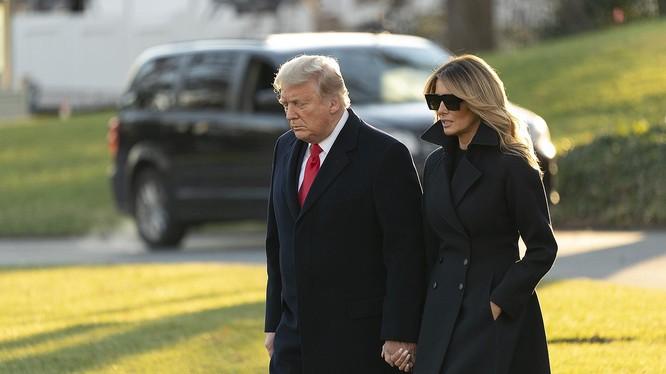 Tổng thống Trump và vợ - bà Melania Trump. Ảnh: People