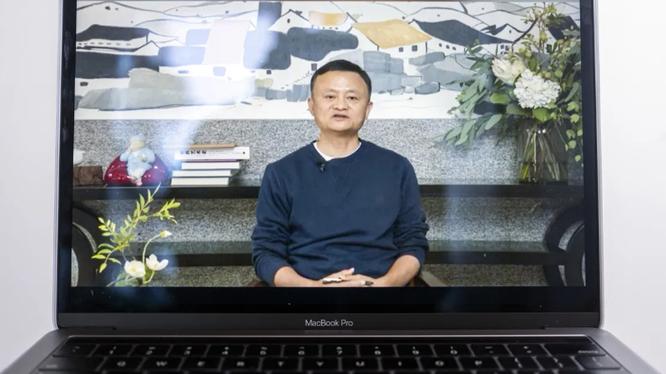 Tỷ phú Jack Ma lần đầu xuất hiện sau thời gian dài ở ẩn. Ảnh: Al Jazeera