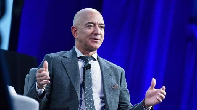 Nhà sáng lập Amazon - tỉ phú Jeff Bezos. Ảnh: Business - Insider