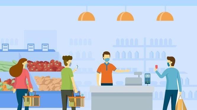 Do tính dễ sử dụng, thuận tiện và an toàn, các nhà bán lẻ và khách hàng đang có xu hướng ưu tiên phương thức thanh toán không tiếp xúc so với các phương thức thanh toán khác. Ảnh: Digi Pay